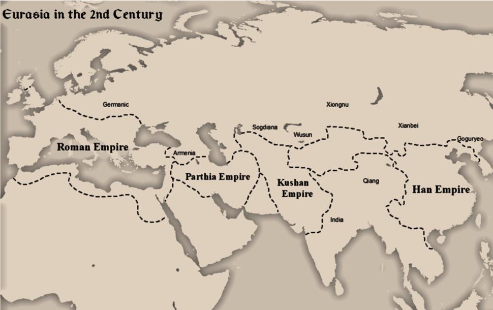 Eurasia in 2nd Century