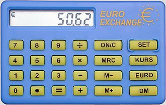 Euro calculator - Simple euro calculator (Germany)