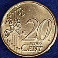 Euro 20 cents (New Design) (5106285918).jpg
