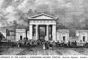 1837 in architecture - Euston Arch.