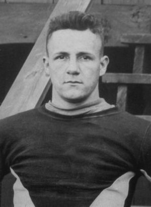 1917 College Football All-Southern Team - Everett Strupper of Georgia Tech.