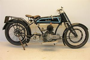 Blackburne (motorcycles) - Excelsior Blackburne 500 cc 1926