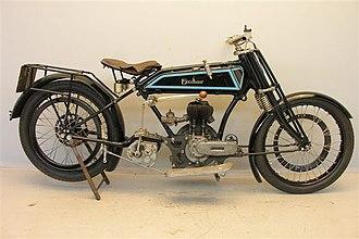 Blackburne (motorcycles) - Excelsior Blackburne 500 cc 1926