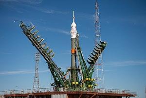 Soyuz MS-04 - Soyuz MS-04 prior to launch
