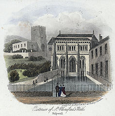 Exterior of St. Winifred's Well, Holywell
