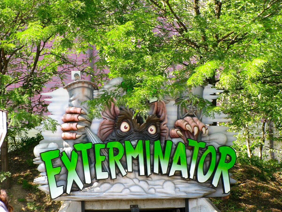 exterminator  roller coaster