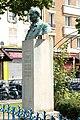 F2593 Paris XII avenue Saint Mande boulevard de Picpus statue Georges Courteline rwk.jpg