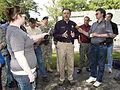 FEMA - 35642 - FEMA Administrator Paulison speaks with the press in Iowa.jpg