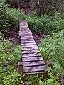FLT M17 10.12 mi - Bridge, 16' long, 2x6x18 in deck boards, 2x8 in stringers, 4x4 post sills (4), 3' to drainage, near Smiley Rd - panoramio.jpg