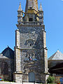 Façade de l Eglise St Cornely Carnac.JPG