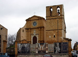 Facade - Cathedral of Agrigento - Italy 2015.JPG