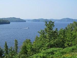 Huntsville, Ontario - Fairy Lake in the summer
