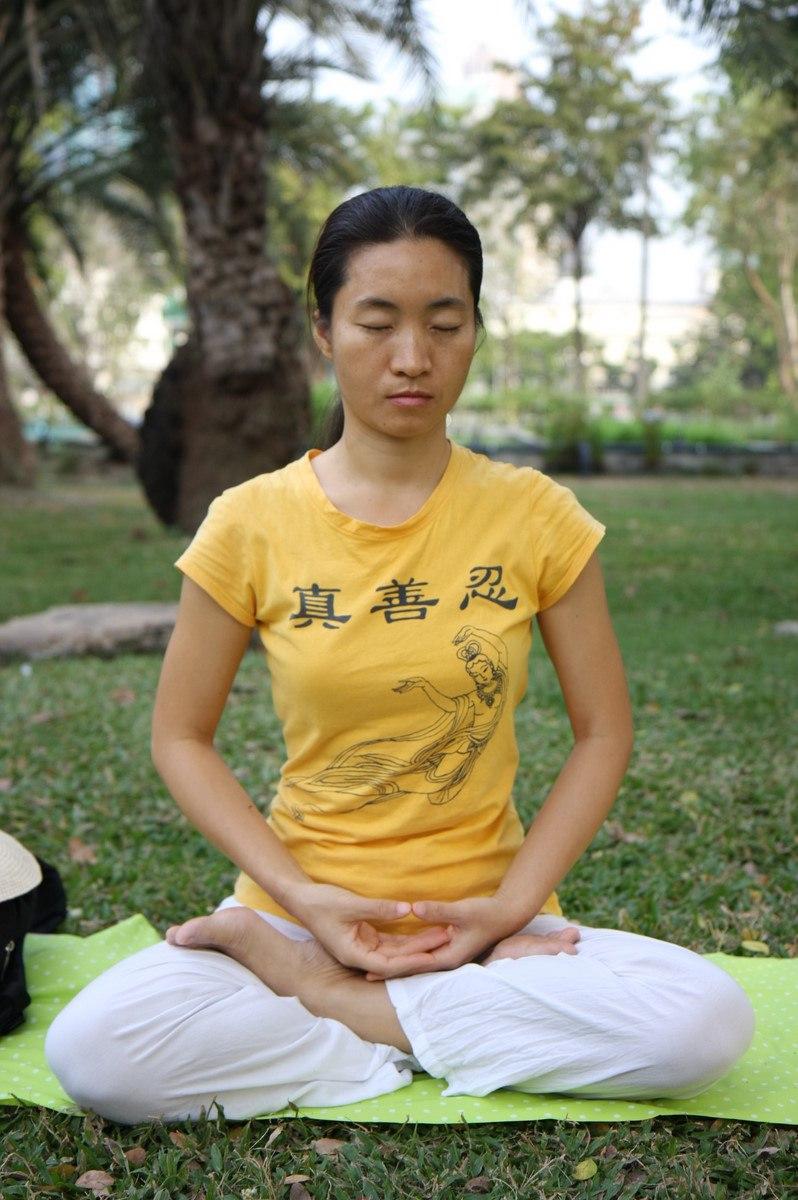 Falun Dafa fifth meditation exercise