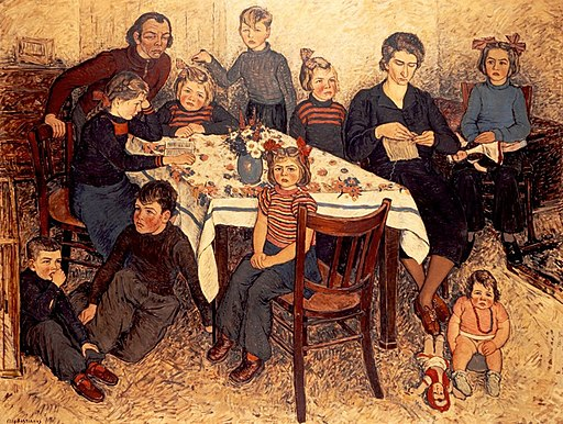 Family portrait (1949) by Kees Bastiaans
