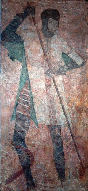 Thomas Hungerford of Rowden - Farleigh Hungerford Castle wall painting in chapel
