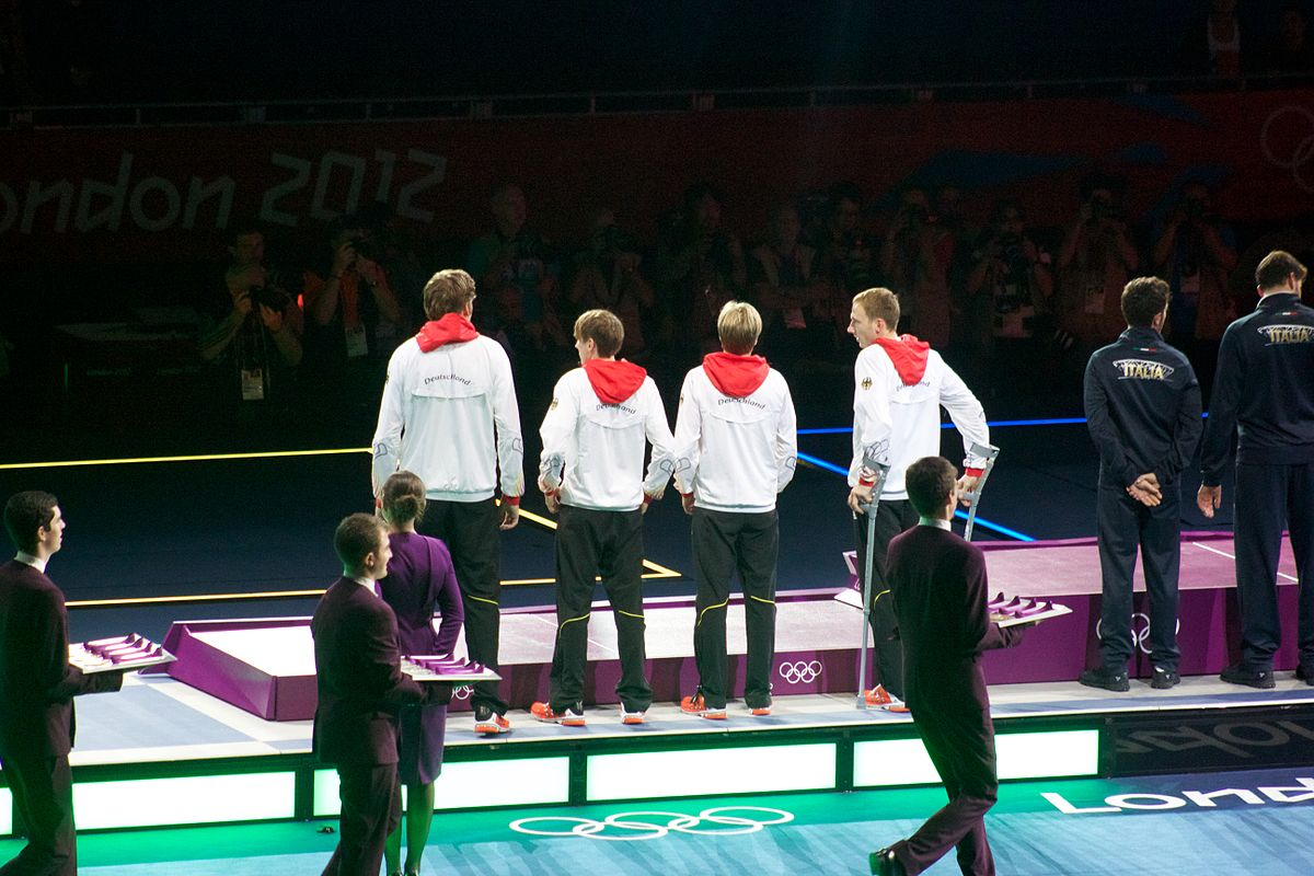 fencing at the 2012 summer olympics � mens team foil
