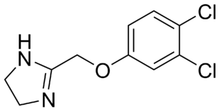 Fenmetozole chemical compound