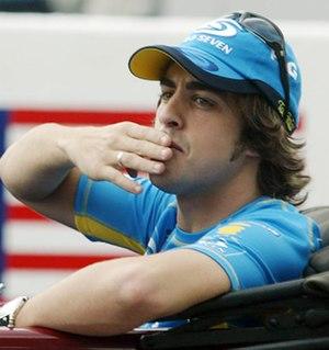 2005 FIA Formula One World Championship - Fernando Alonso won the Drivers' Championship with Renault.