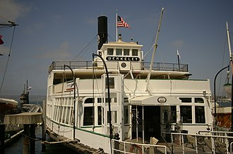 California Historical Landmarks in San Diego County, California - Image: Ferryboat Berkeley exterior 02