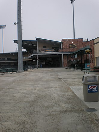 Greenville Drive - Image: Ffentrance
