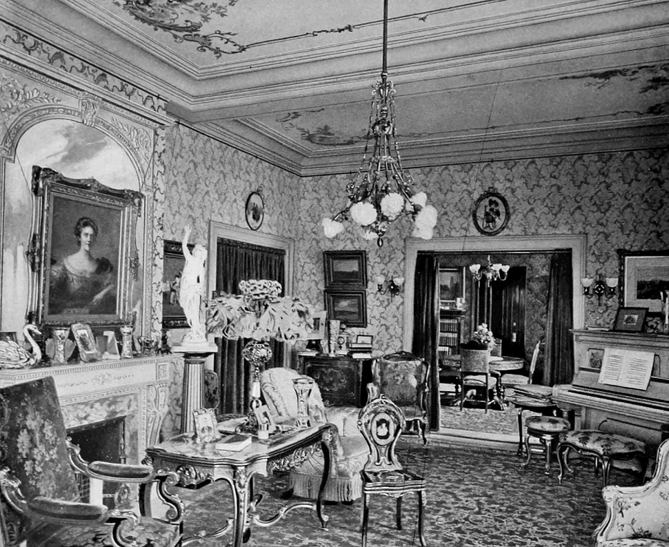 Fifth Avenue corner suite drawing room Astoria