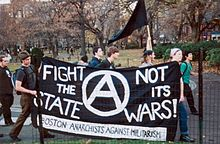Fight the state%2C not wars., From WikimediaPhotos