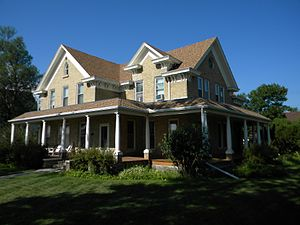 National Register of Historic Places listings in Day County, South Dakota - Image: Fiksdal House NRHP 95000279 Day County, SD