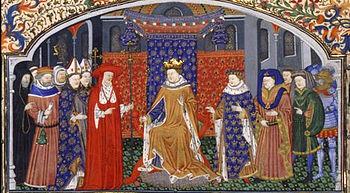 Coronation of Philip IV the beautiful