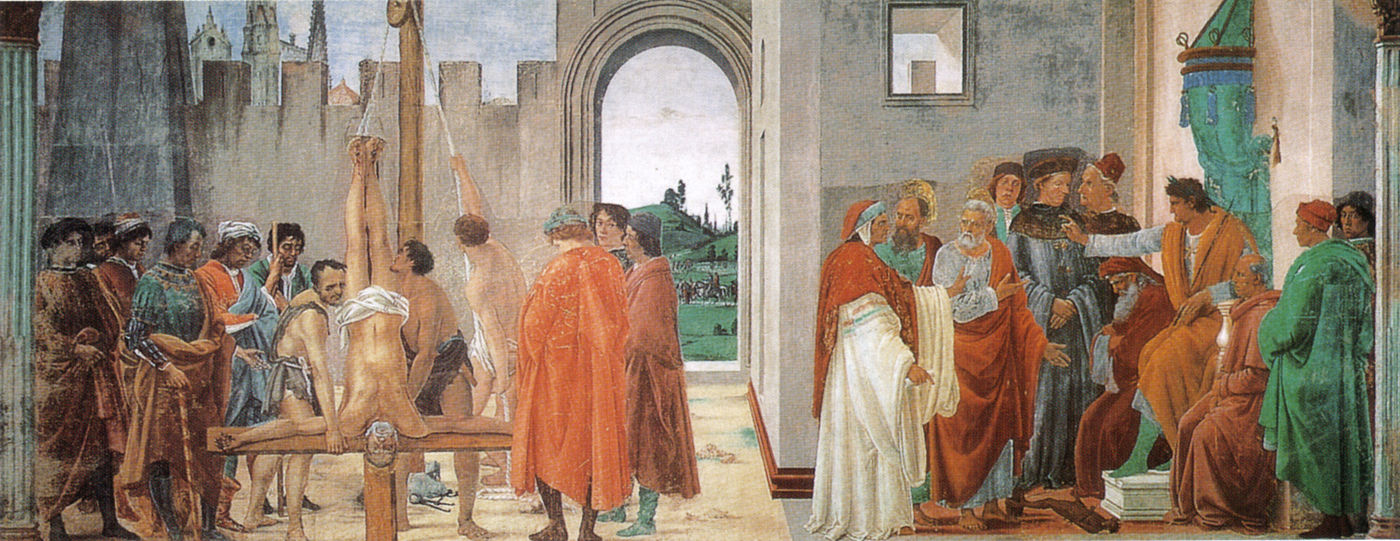 The Disputation with Simon Magus and the Crucifixion of Peter