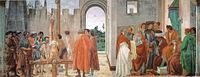 Filippino lippi, crocifissione di san pietro, cappella brancacci, 1482-85.jpg