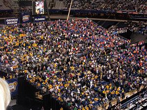 Crowd at the 2006 NCAA Men's Division I Basket...