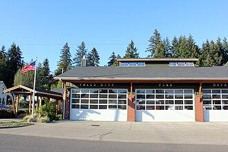 Falls City, Oregon - Fire department in Falls City