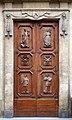 Firenze, santa trinita, porte del 1640.jpg