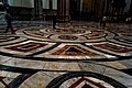 Firenze - Florence - Cattedrale Santa Maria del Fiore - View on one of the 3D Floor Patterns in Multi-Coloured Marble in the Central Nave II.jpg
