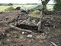 Firse sten (Raä-nr Falköpings Östra 1-1) utgrävning-08 1542.jpg