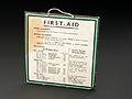First aid notice, England, 1901-1950 Wellcome L0058524.jpg