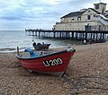 Fishing boats on Bognor Regis beach - geograph.org.uk - 854014.jpg