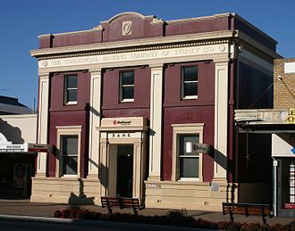 Five Dock, New South Wales - Old bank building on Great North Road, Five Dock