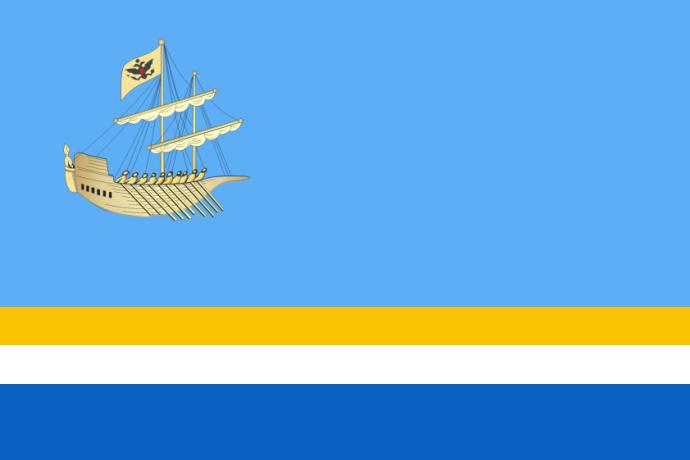 Flag of Kostroma (Kostroma oblast)