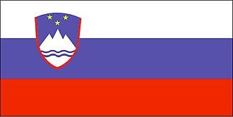 Yugoslavia - Image: Flag of Slovenia (WFB 2000)