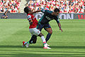 Flickr - Ronnie Macdonald - Gervinho ^ Kieran Richardson.jpg