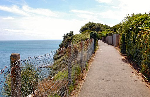 Flickr - ronsaunders47 - CLIFF EDGE WALK. SANDOWN. ISLE OF WIGHT UK.