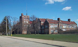 Flint Central High School - Flint Central High School in April 2011