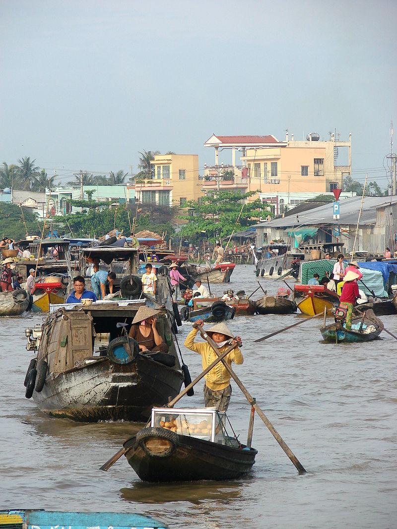 Floating Market - Can Tho - Vietnam.JPG
