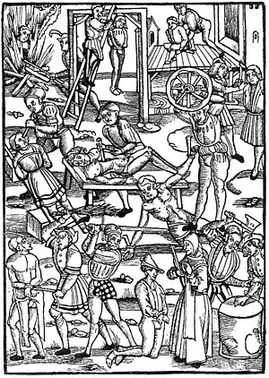Torture in the 16th century