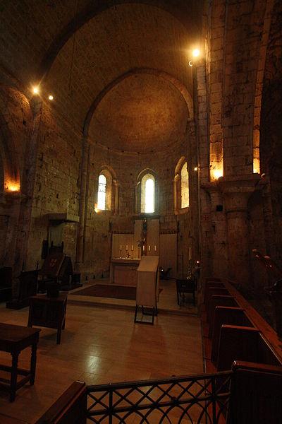 Cazedarnes (Hérault) - chœur.
