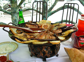 Quba - Sac is one of traditional meals in Quba's cuisine
