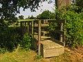Footbridge near Moat Cottage - geograph.org.uk - 1338947.jpg