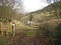 Footpath at Honeyhole - geograph.org.uk - 655044.jpg