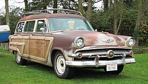 Ford Country Squire - 1954 Ford Country Squire